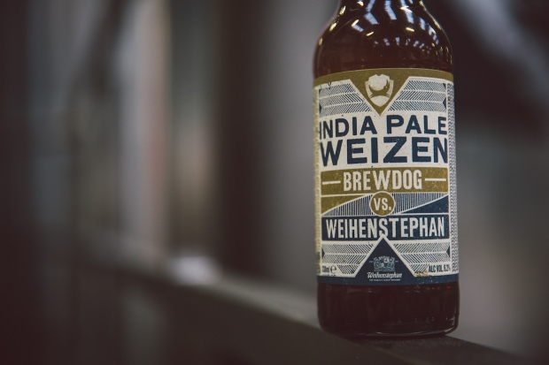 India Pale Weizen by BrewDog and Weihenstephan (photo credit: BrewDog)